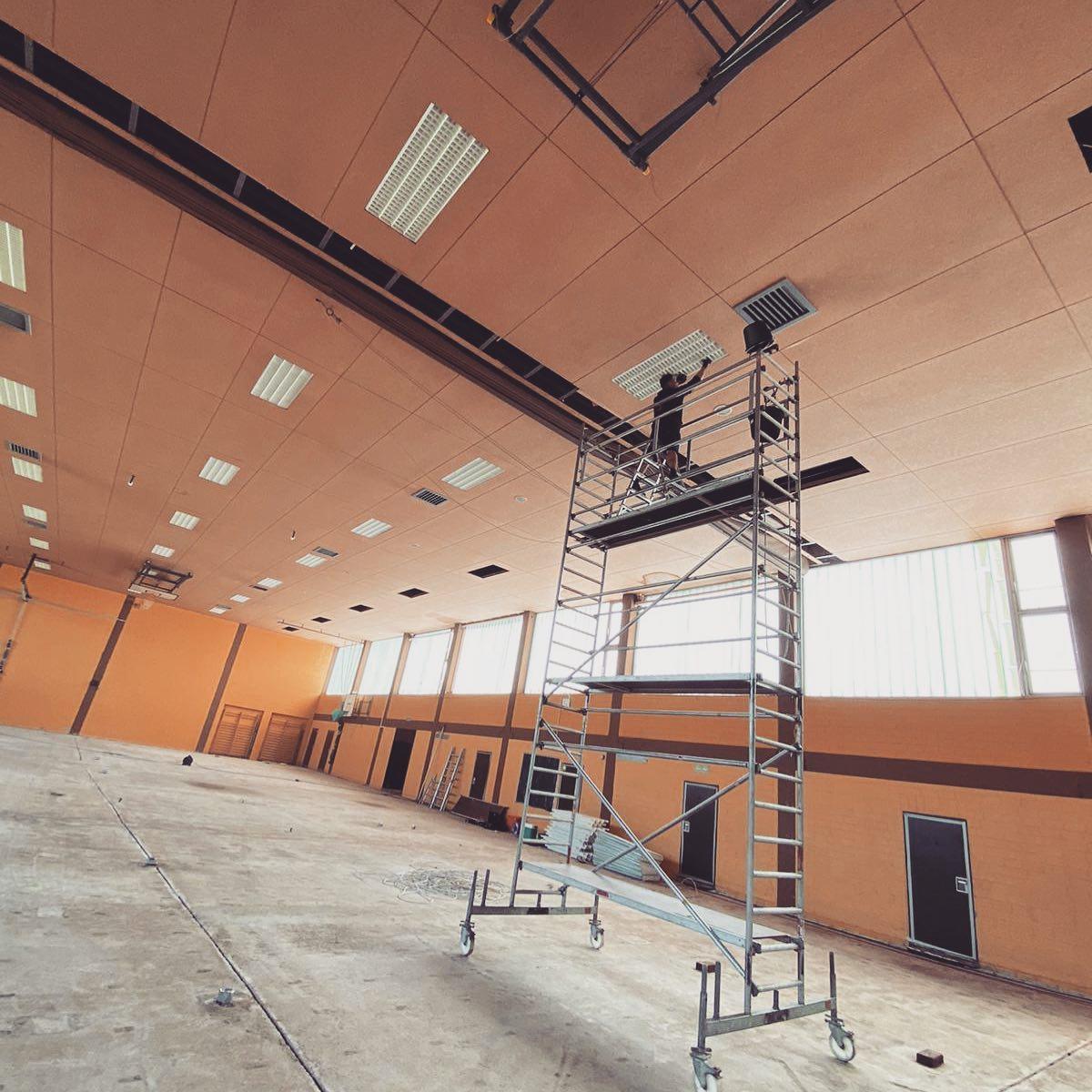 Licht- und Lautsprechersteuerung in Rieseby